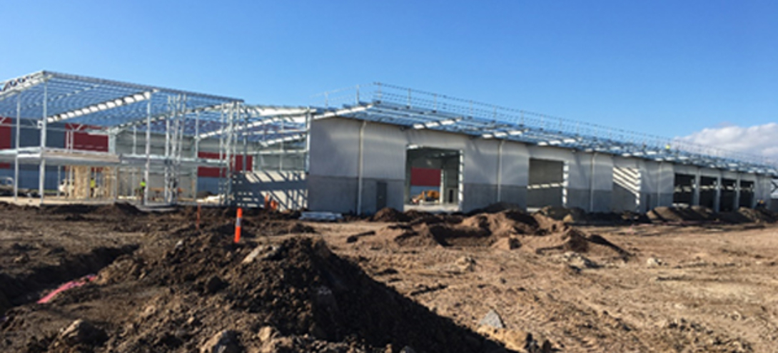 Altona Facility Progress